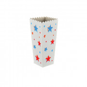 Popcorn beker vierkant medium, 62 x 90 x 195 mm
