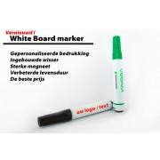 white board marker, met magneet