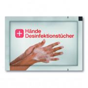 Desinfectie doekje, anti-bacterieel, shiny, FC