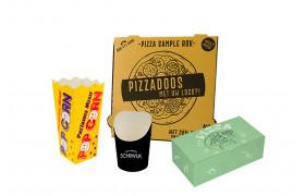 Pizza, noodle, soep/sla en Burgers