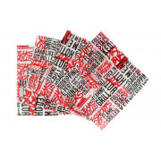 Inpakpapier, wrapping paper, 40 gr, wit