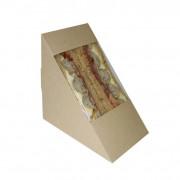 standaard sandwich verpakking kraft bruin
