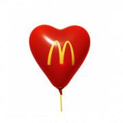 Hartballon, 33 cm Ø