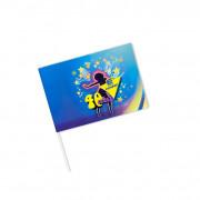 Handvlaggetjes van papier formaat C